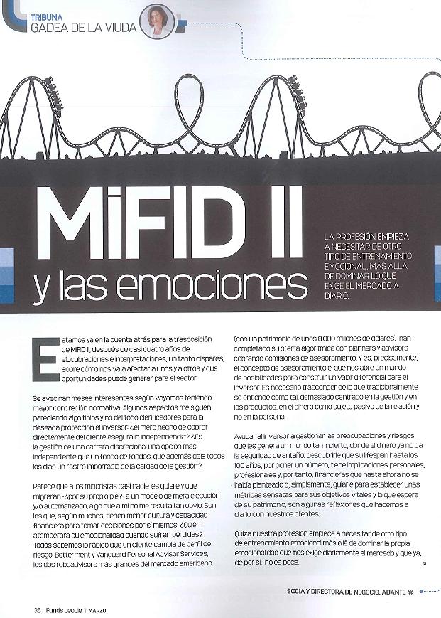 201703 Funds Tribuna Mifid II Gadea de la Viuda
