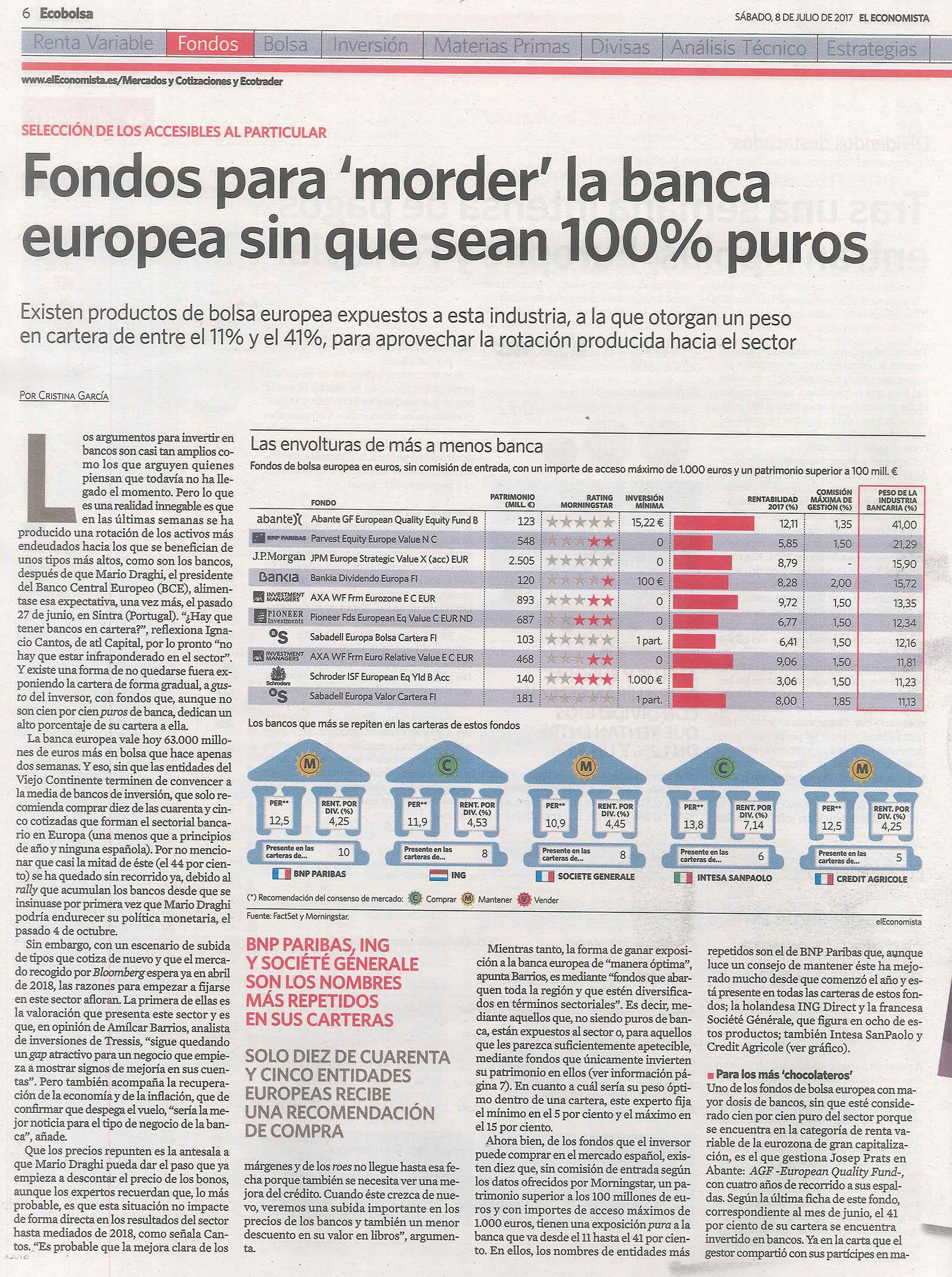 20170710 El Economista Josep Prats European fondos banca 1