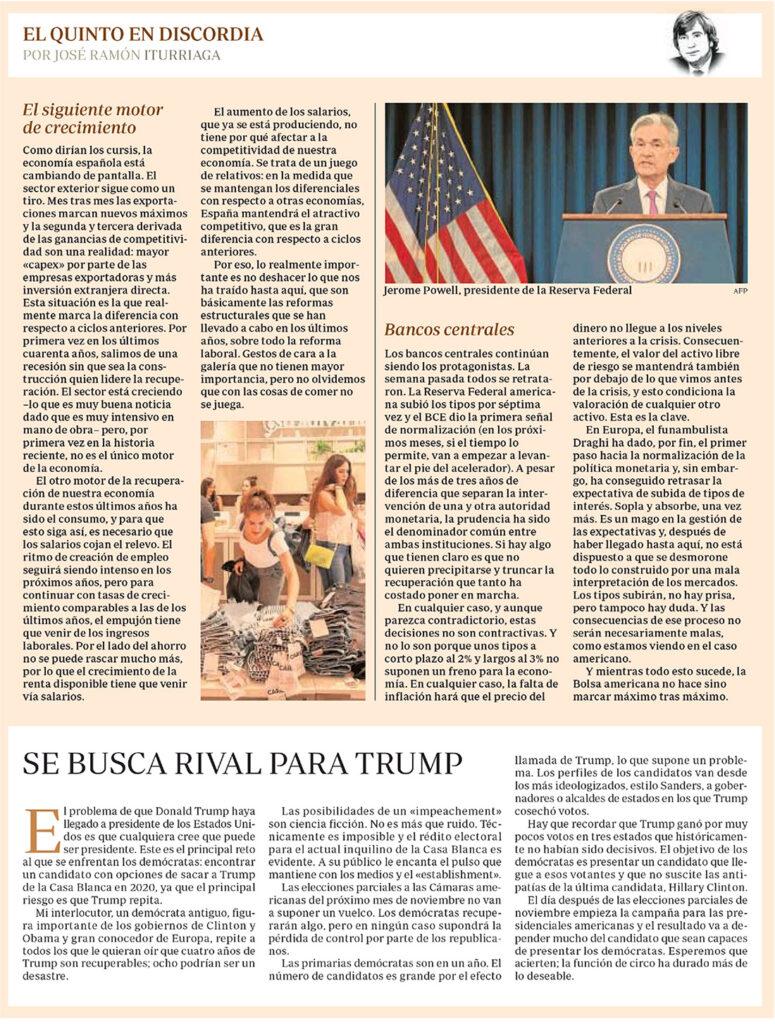 ABC EQED BANCOS CENTRALES RIVAL TRUMP