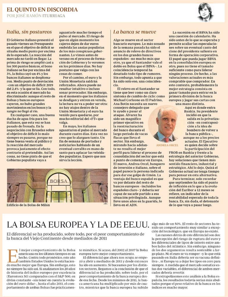 ABC EQED ITALIA BANCOS EEUU Y EUROPA
