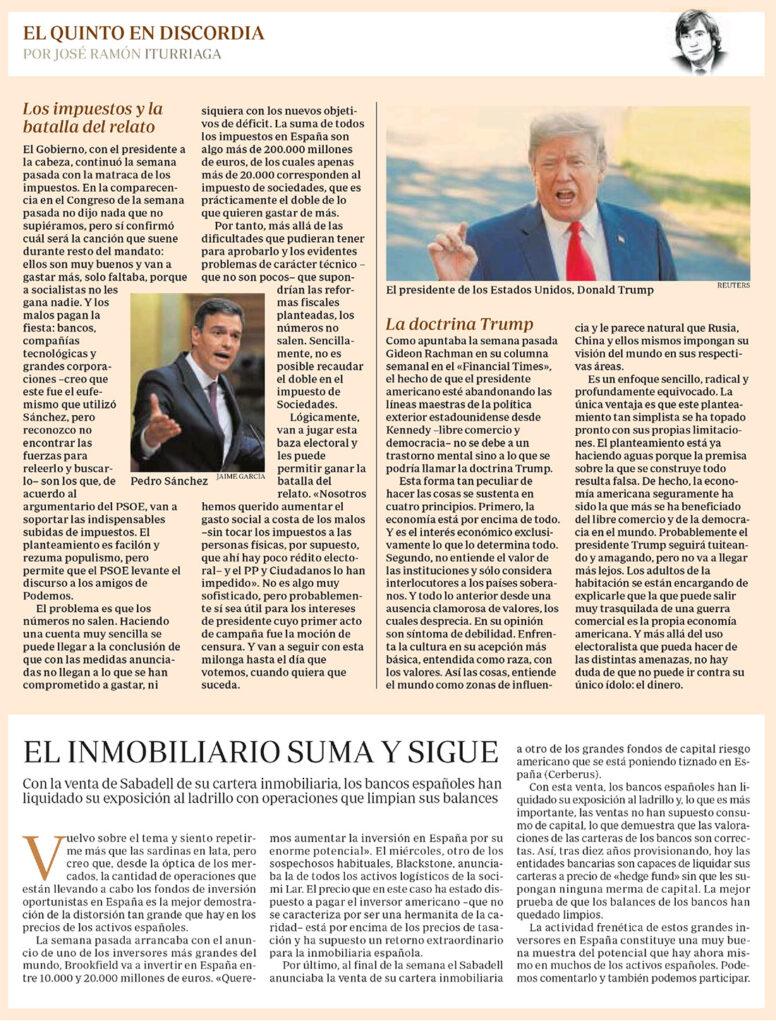 ABC EQED ITURRIAGA IMPUESTOS TRUMP Y LADRILLO
