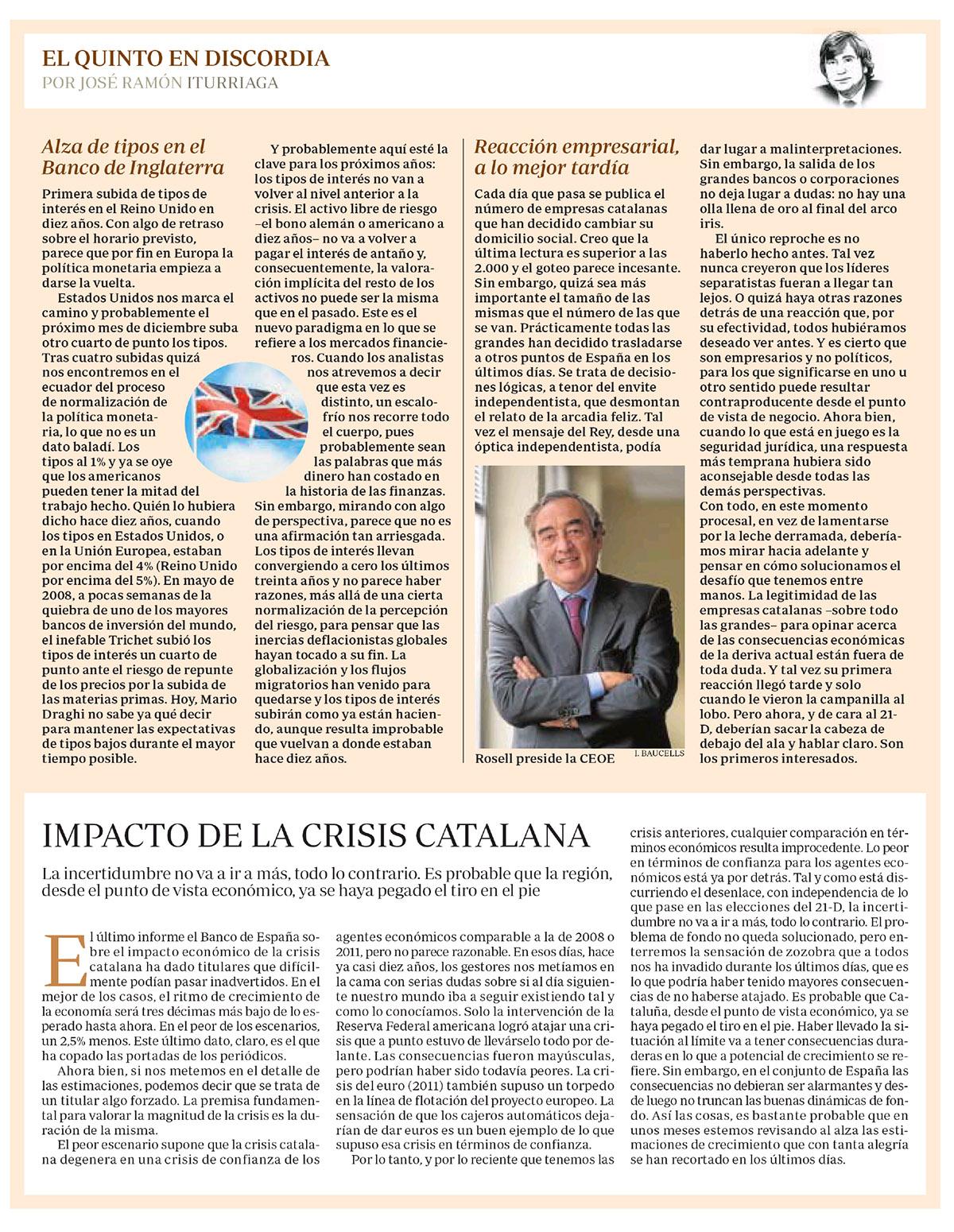 ABC Iturriaga EQED tipos Inglaterra y crisis catalana
