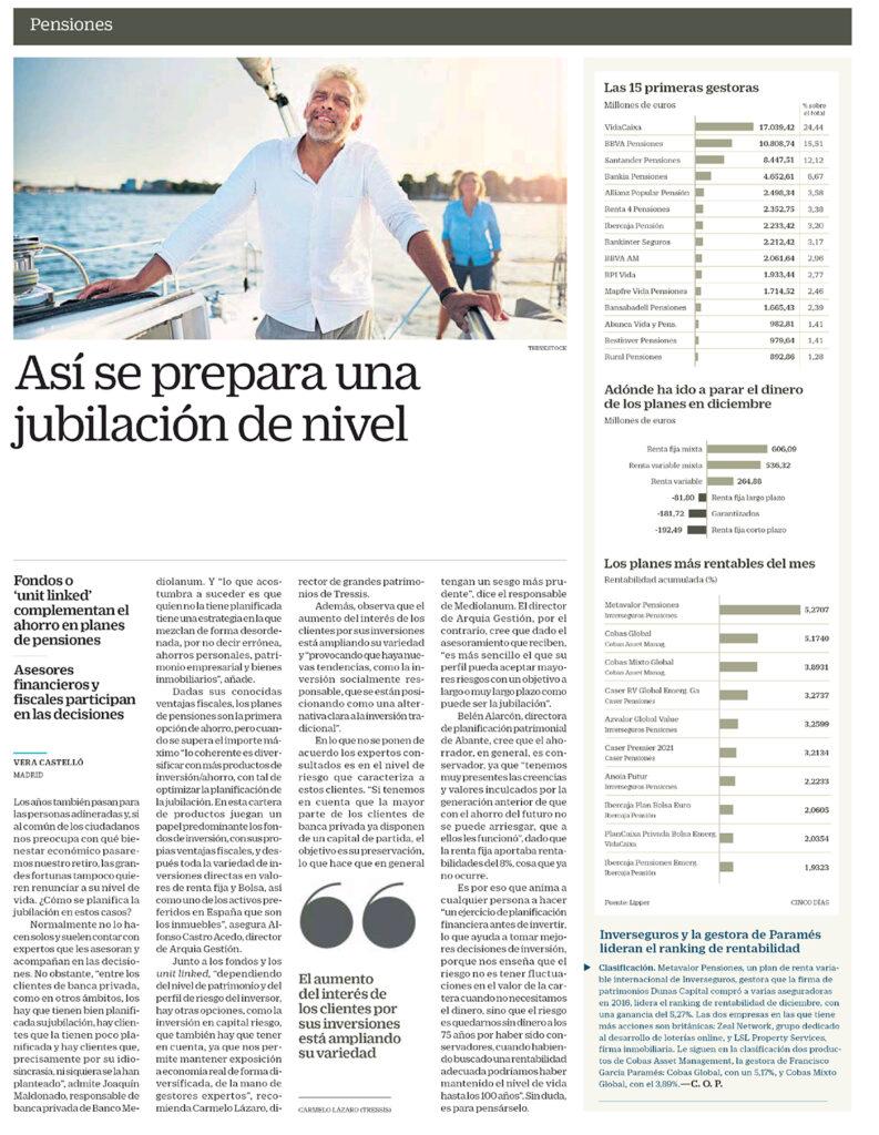 CINCO DÍAS ALARCÓN JUBILACIÓN 24012018