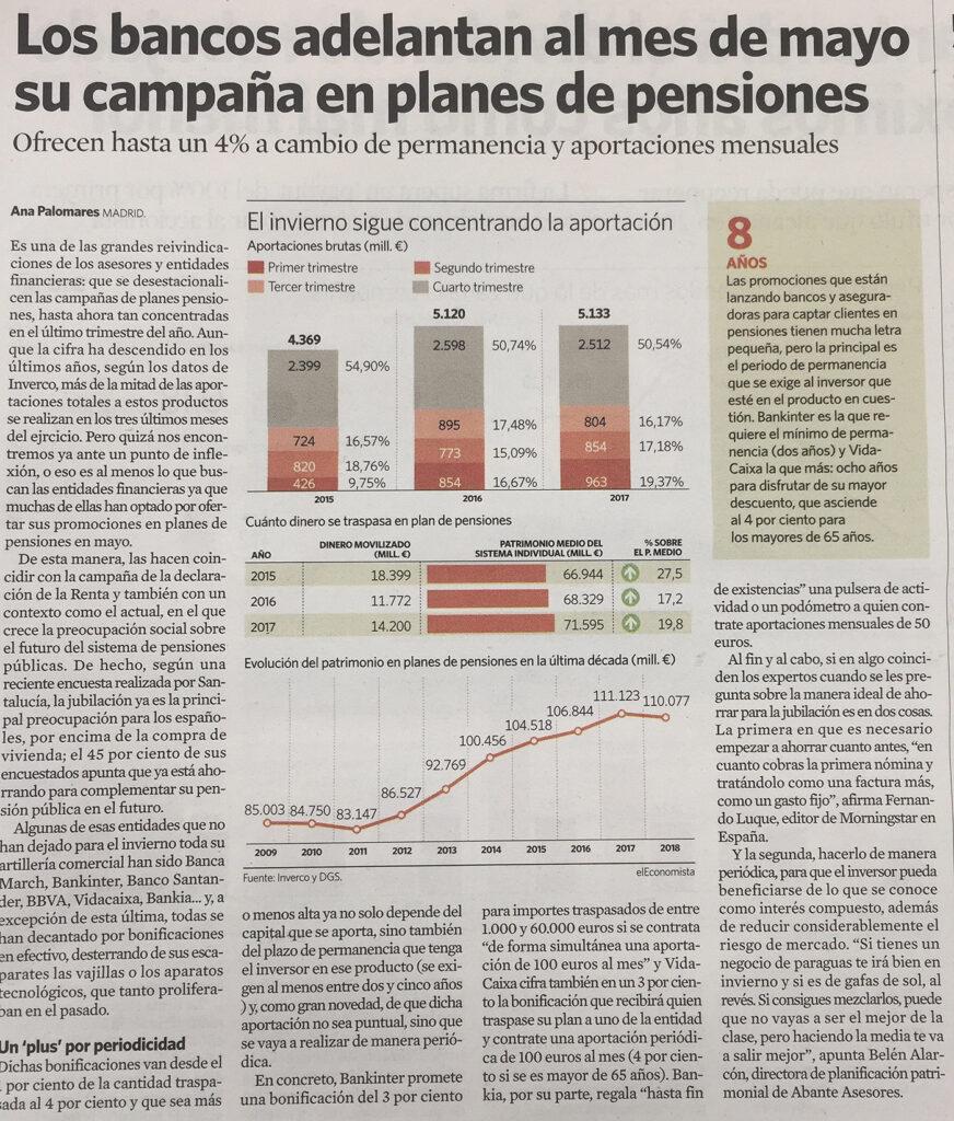 El Economista pensiones Alarcón
