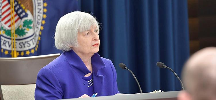 Janet Yellen (Imagen de la Reserva Federal de Estados Unidos)