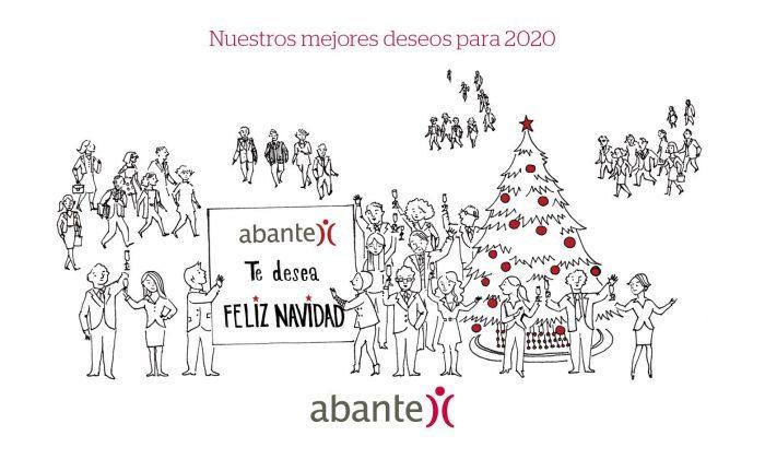 Felicitación navidad Abante 2020