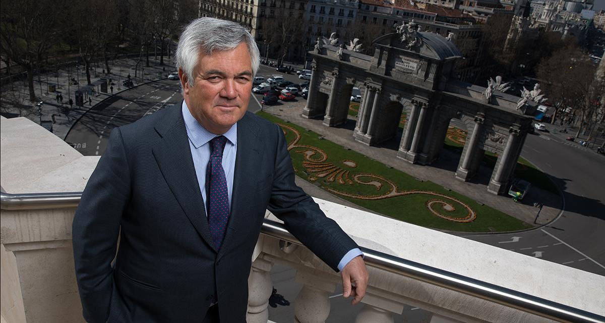 Santiago Satrústegui Presidente de Abante
